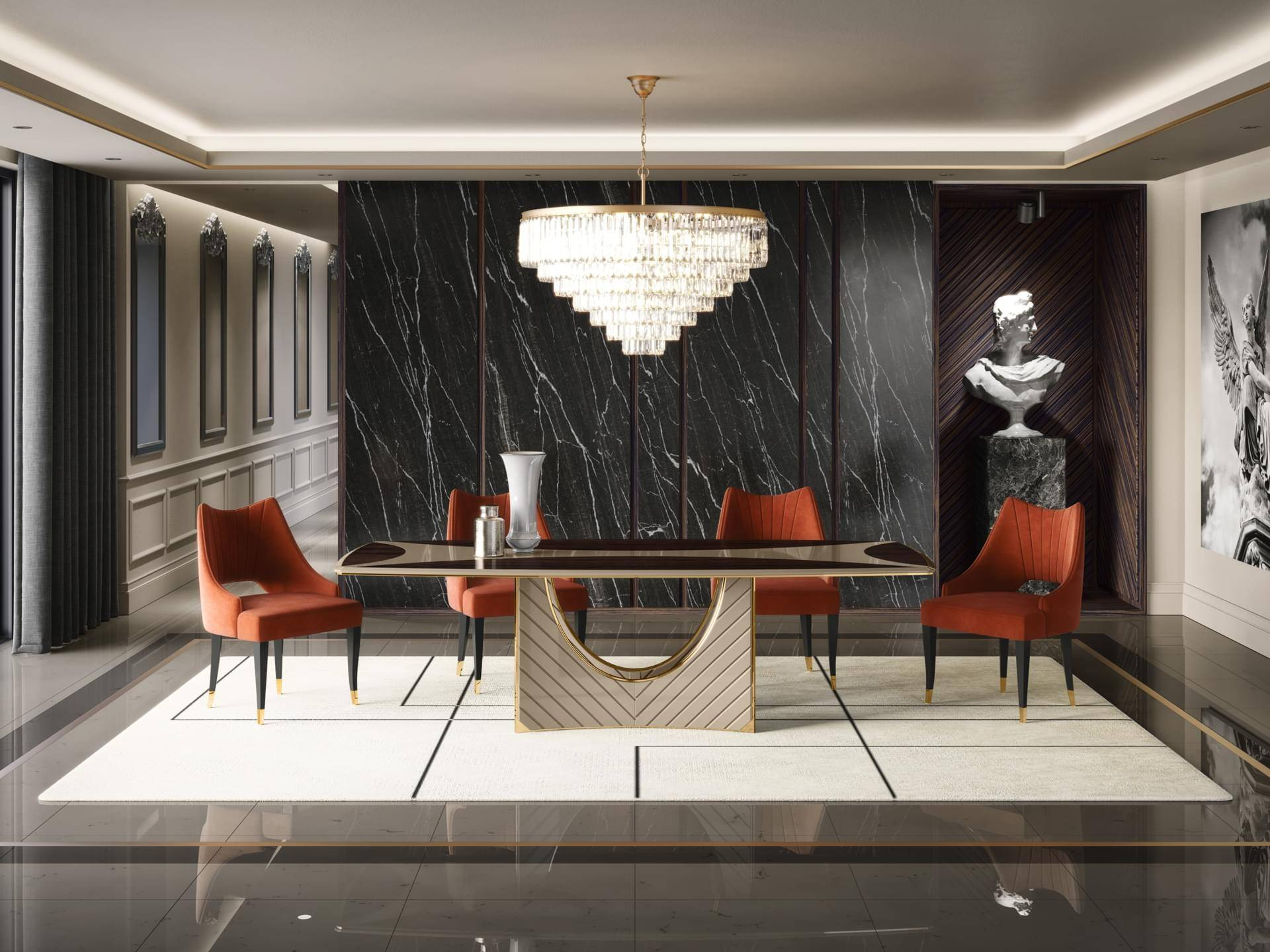 The New ADONIS Dining Table by OPR HOUSE